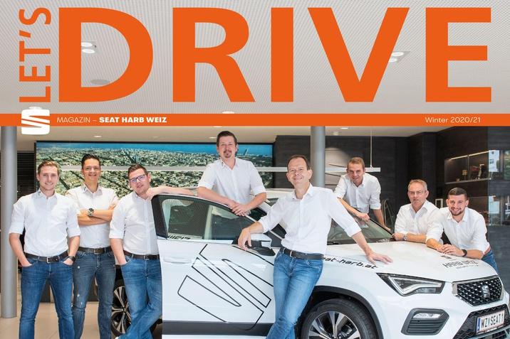 Kundenmagazin Let´s Drive